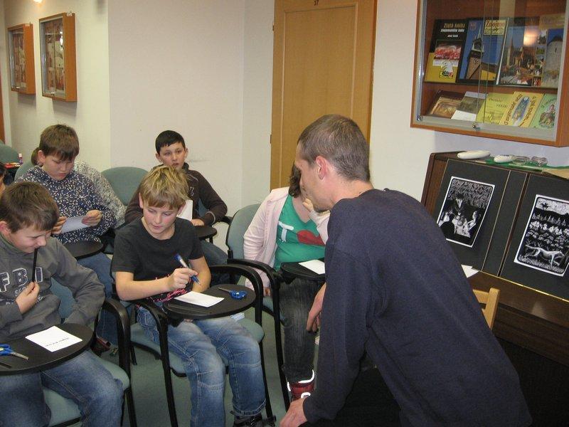 S dětmi ve znojemské knihovně